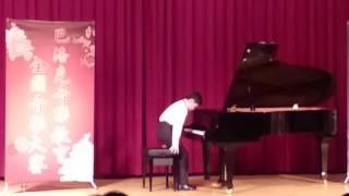 2017巴洛克音樂大賽 四年級第一名 鍾孟和 曲目 哈察都量小奏鳴曲 第三樂章