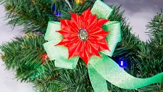 Kanzashi flower – POINSETTIA