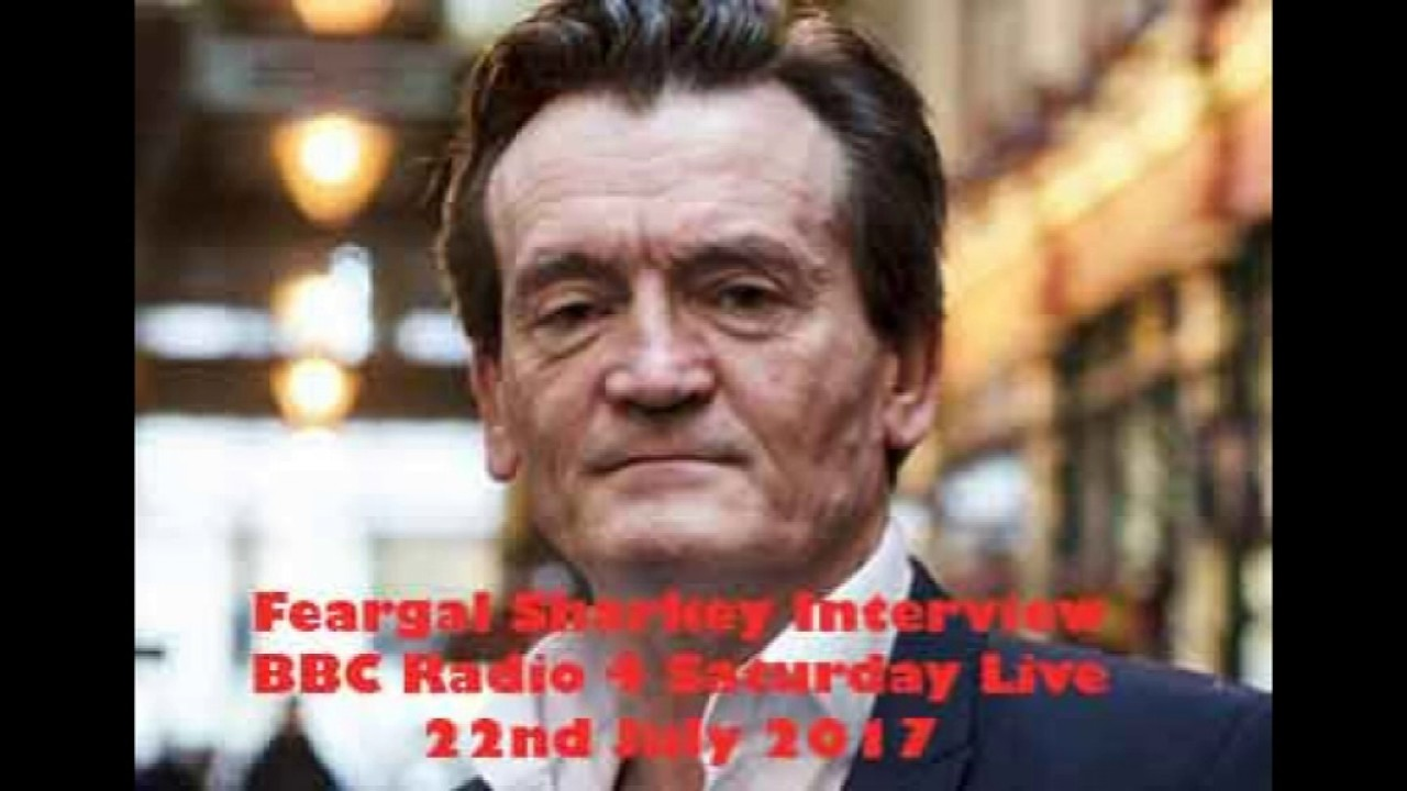 Where is feargal sharkey today