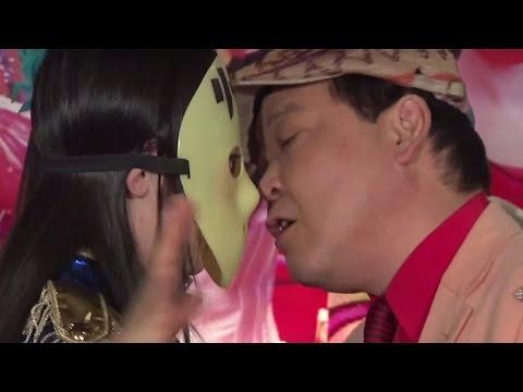 仮面女子・桜のどか、ダチョウ上島とキス芸!?「仮面女子×スイパラ」コラボイベント2