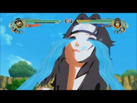 Naruto Ultimate Ninja Storm Legacy Trilogy PC MOD 60 FPS - All Guy Ougi Character Swap 1080p