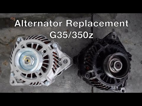 Alternator Replacement Infiniti G35/350z – How To!!