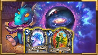 Hearthstone: New Deck| Arcane Amplifier, Jan'alai and Luna's Pocket Galaxy | Dragon Hero power Mage