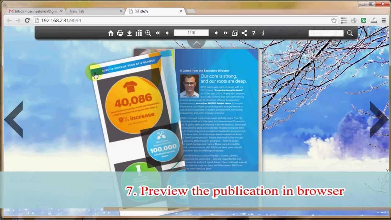 Flip Html5 User Manual Quick Start to Create Online eBook
