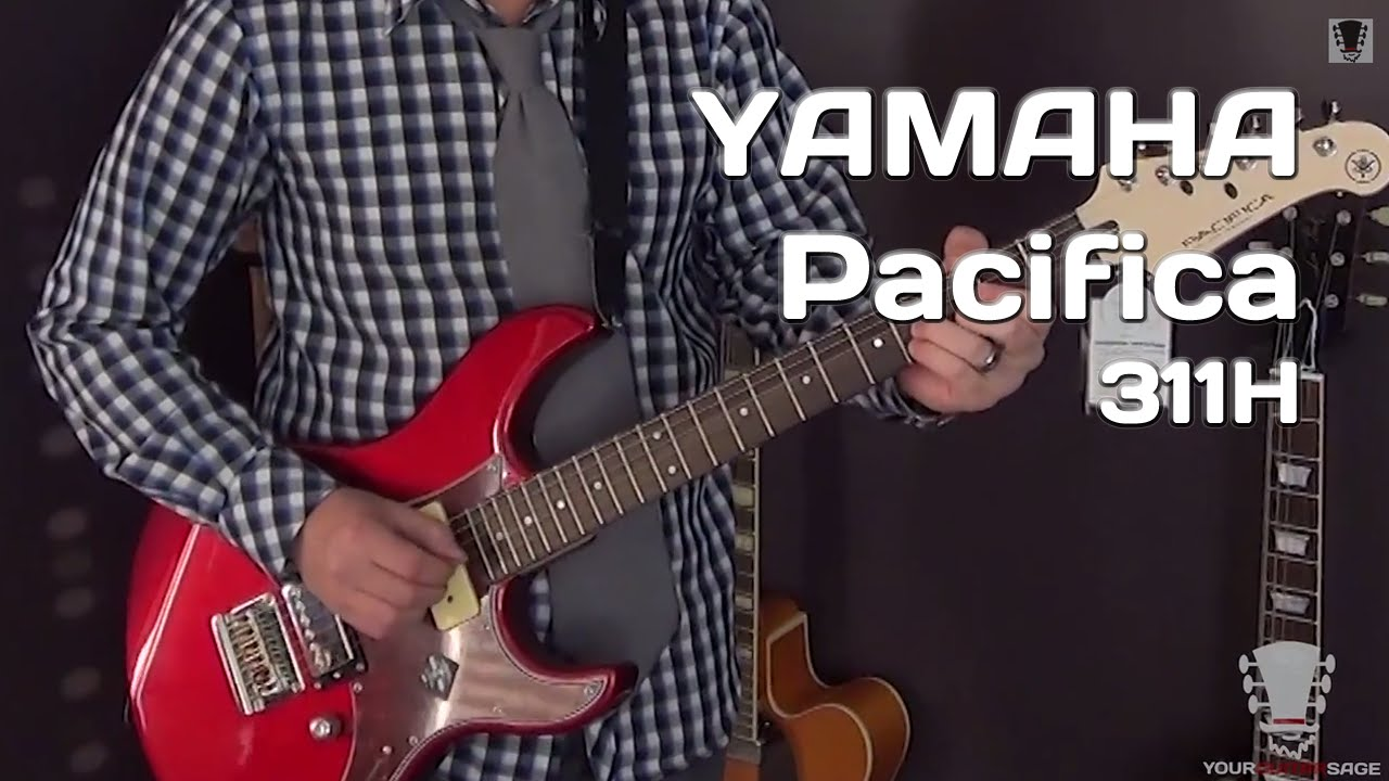 yamaha pacifica 311h electric guitar unboxing and review youtube. Black Bedroom Furniture Sets. Home Design Ideas