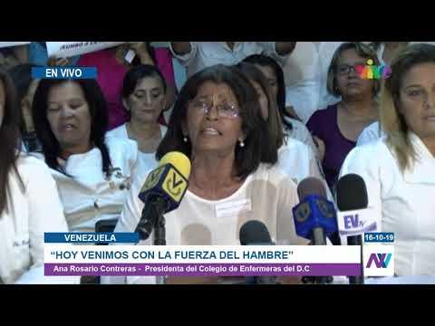 Declaración de Rosario Contreras Presidenta del Colegio de Enfermeros del D.C.