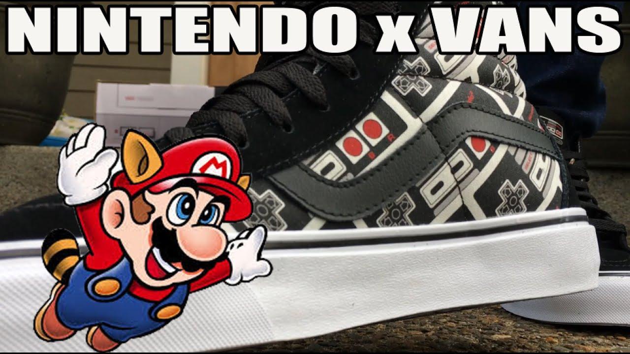 ba9623715c6 Nintendo x Vans Sk8 High (Mario