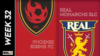 Phoenix Rising FC Vs. Real Monarchs SLC October 12 2019