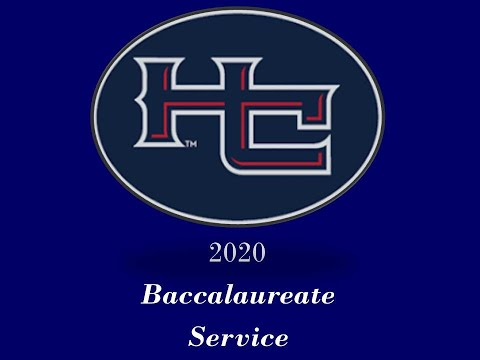 Haralson County High School 2020 Baccalaureate Service