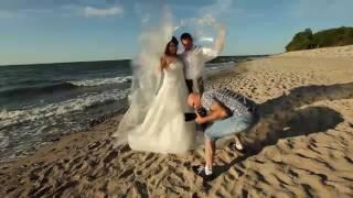 Sesja ślubna nad morzem w Kołobrzegu