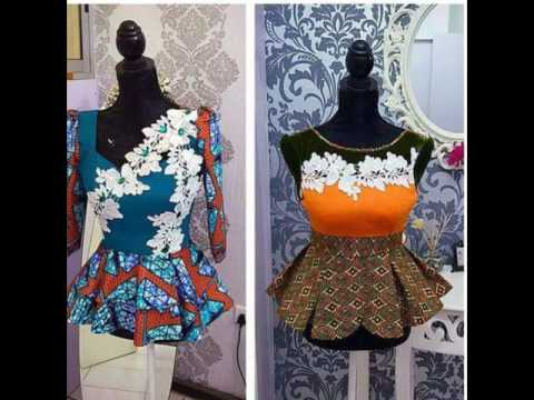 Lovely Ankara Peplum Tops On Pinterest For Any Party Youtube