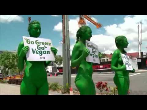G20 near naked protesters urge leaders to go green, go