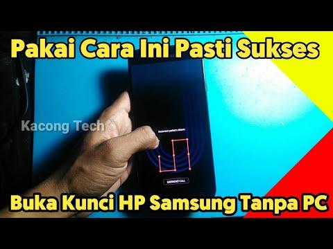 Cara atasi Lupa Sandi/Pola Samsung Galaxy J7 Pro.