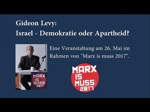 Gideon Levy - Israel, Demokratie oder Apartheid?