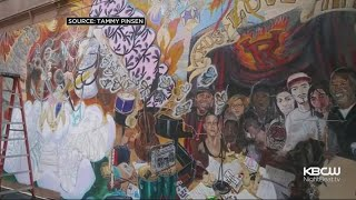 Mural Dedicated To Boy Who Died Tragically In Vallejo, Painted Over By Paramount Pictures