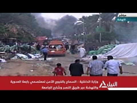 Desocupação no Cairo termina em violência