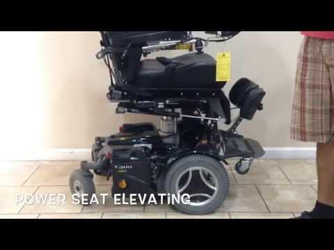Permobil C500 VS Rehab Power Chair