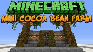 Minecraft: Mini Cocoa Bean Farm Tutorial