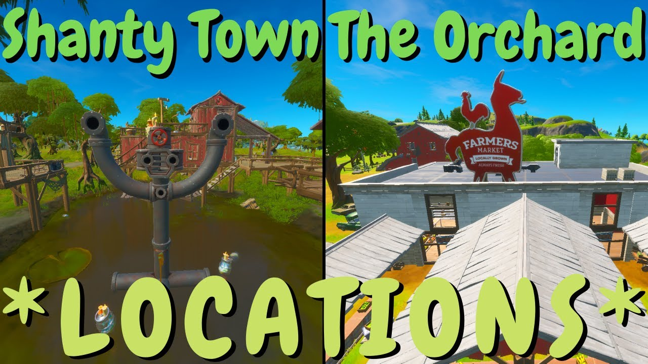 Apply Shields or Healing at Shanty Town or The Orchard ...