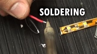 soldering led strips sirs e
