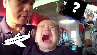 Toddler on a plane? Bad Idea!