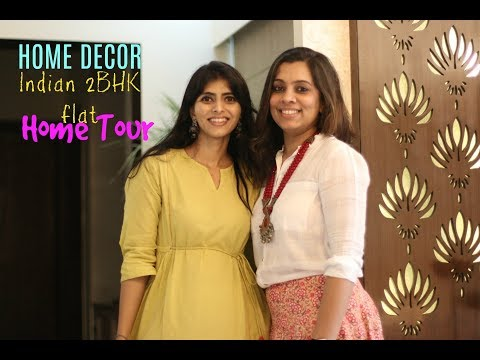 An Indian Home Tour : Inside A Small Beautiful 2 BHK Indian Flat : Home Decor Tips & Ideas