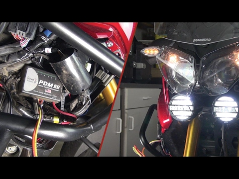 Rowe Electronics PDM60 and the PIAA LP530 LED Driving Lights - YouTube
