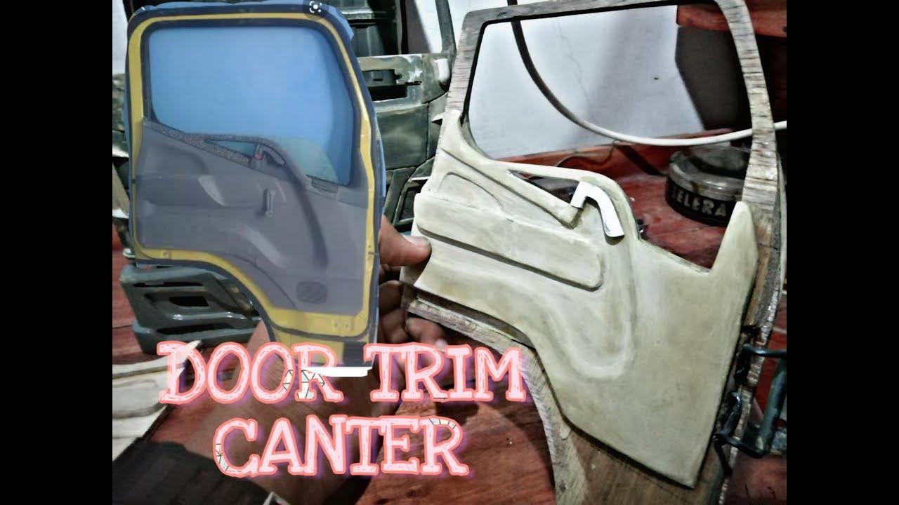 Cara Membuat Doortrim Miniatur Truck Canter By Hilsan Aja