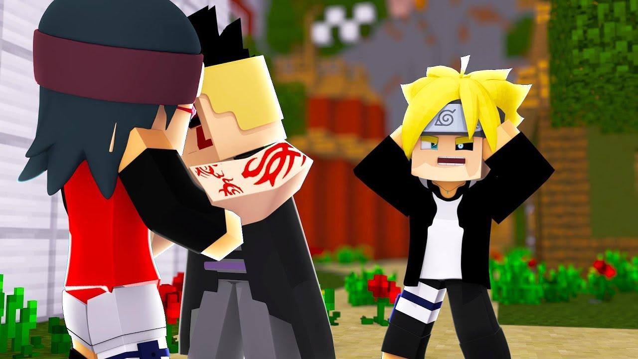Minecraft Boruto Sarada Traiu O Boruto 145 Youtube
