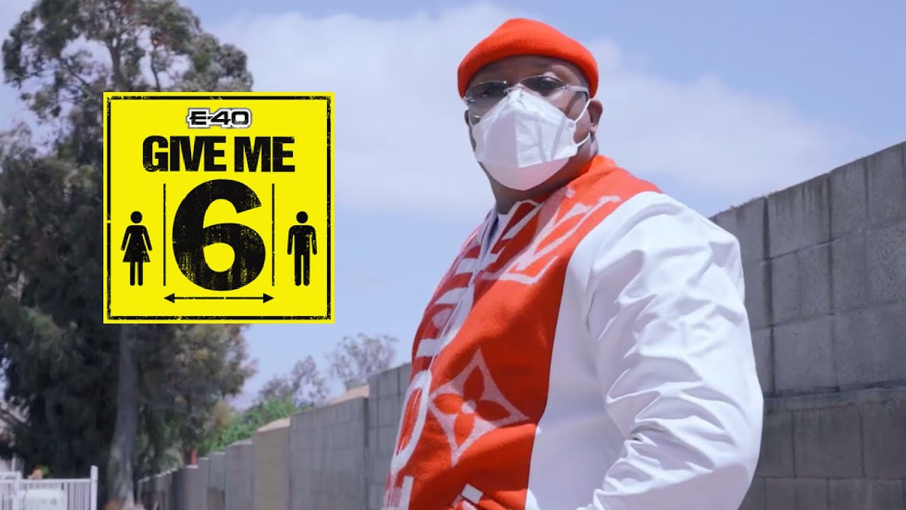 """NEWFACE MAGAZINE LV FEATURING:  MR. E-40 """"Give Me 6"""" Music Video, getting through this COV"""
