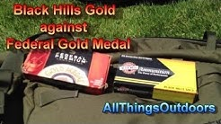 Shooting DPMS 308: Black Hills Gold A-Max and Federal Gold Medal Match