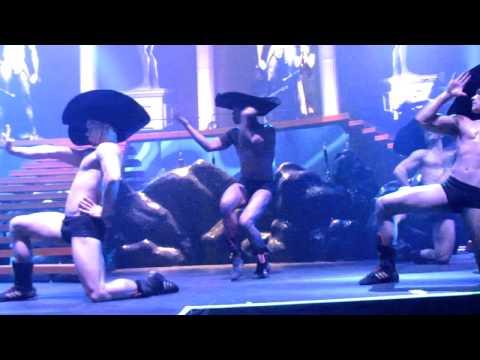 Kylie Minogue- Cupid boy (live). May.3, 2011 NYC