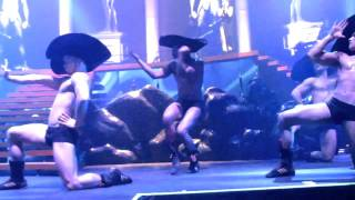 Kylie Minogue- Cupid boy (live). May.3, 2011 NYC