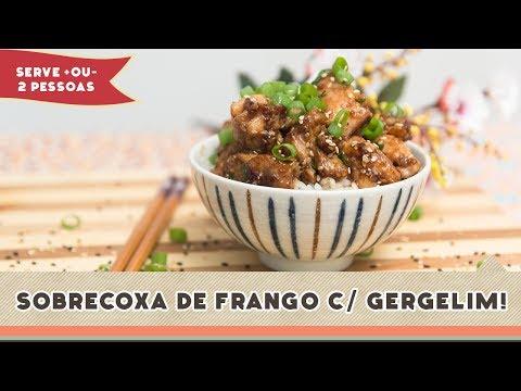 Sobrecoxa de Frango com Gergelim - Receitas de Minuto #142