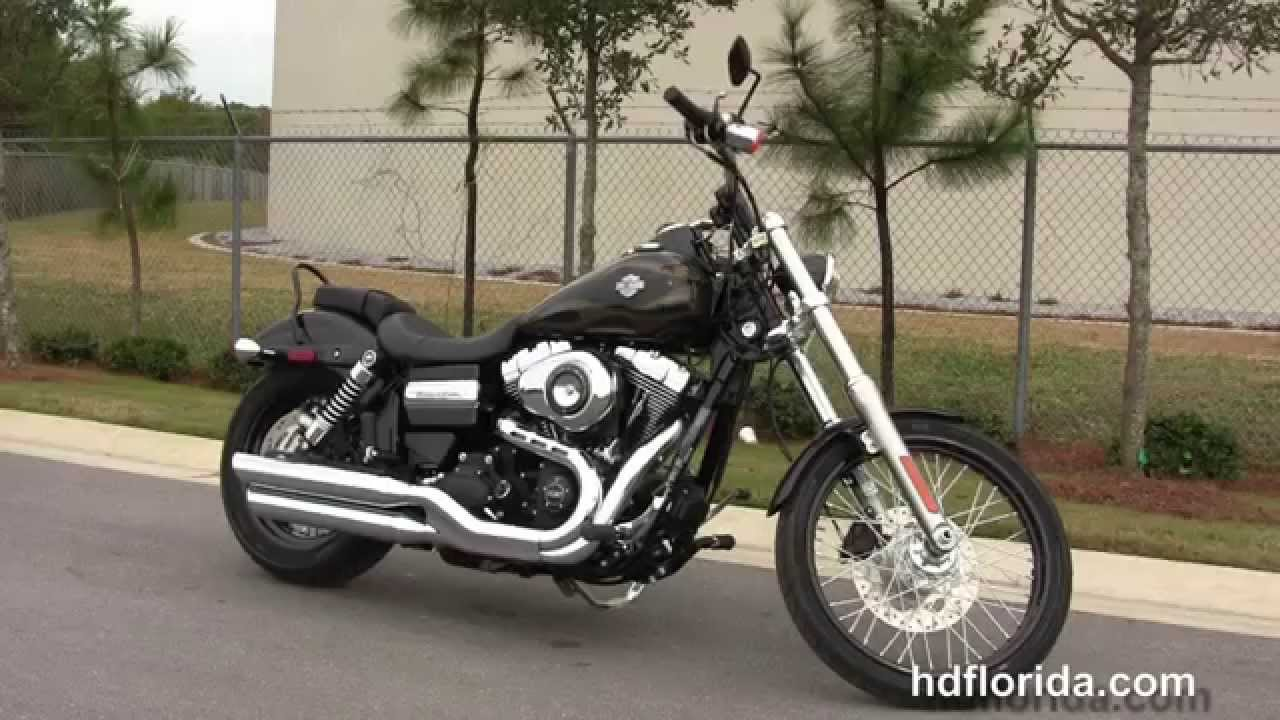 New 2015 Harley Davidson Wide Glide Motorcycles for sale - YouTube