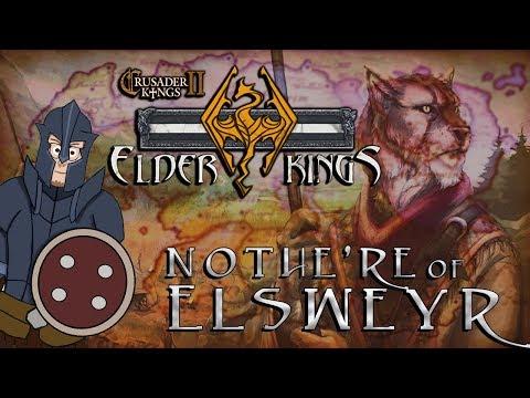 Crusader Kings 2 - Elder Kings Mod   Elsweyr   #14 [Underestimation]