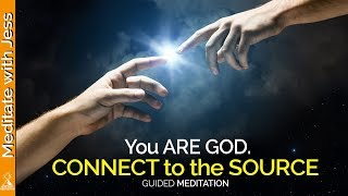 You Are God. PROFOUNDLY POWERFUL! Guided Meditation for Advanced Meditators.