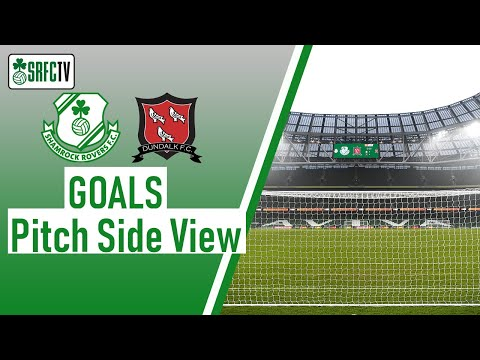 Pitchside View | Goals v Dundalk | FAI Cup Final | 6 December 2020