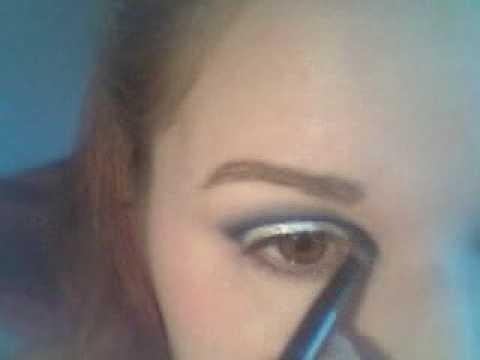Make Up 10: Princess Anastasia, Royal Blue, White Frosty Glitter
