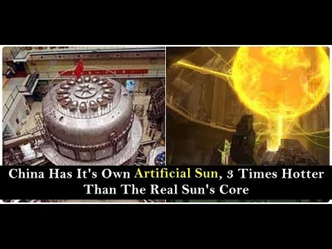 China Creates ARTIFICIAL SUN that's 7x HOTTER than the Sun