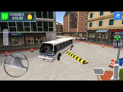 Bus Station Learn to Drive  - Android Gameplay FHD