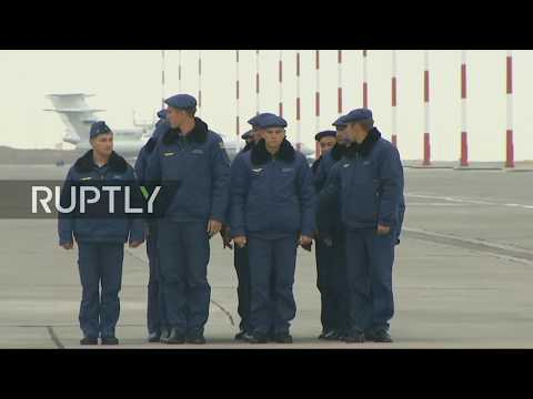 LIVE from Privolzhsky airbase as Russian troops return home from Syria