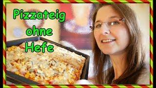 Pizzateig Selber Machen Ohne Hefe Und Backpulver