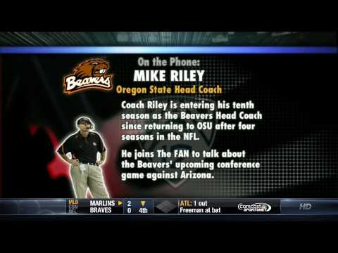 Mike Riley Interview 09-27-12