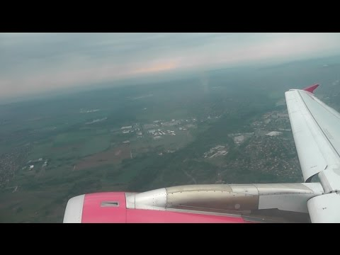 Wizz Air Airbus A320-232 / Budapest to London Luton (FULL FLIGHT)
