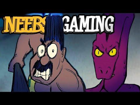 SIMON vs SNAKE  (Neebs Gaming Animated)