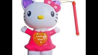 Lồng Đèn Mèo Kitty Bán Tại Ninedra