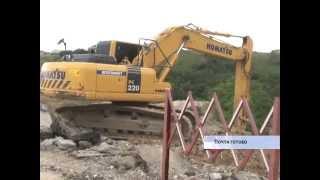 Полномасштабное строительство объездной Мирное-Дубки началось
