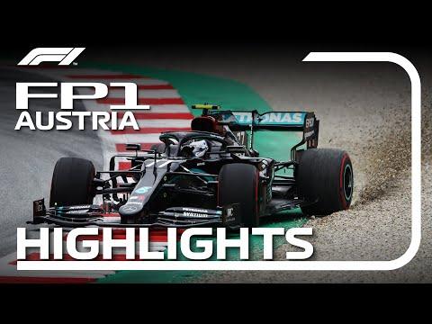 2020 Austrian Grand Prix: FP1 Highlights
