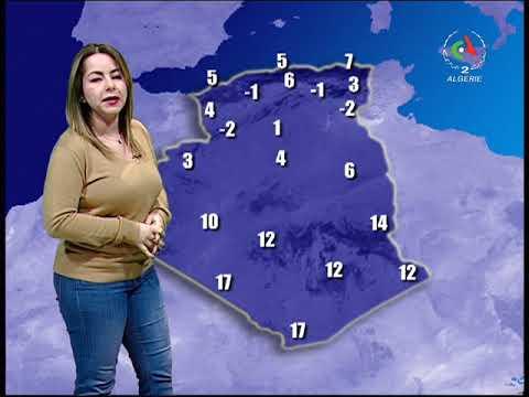 Retrouvez la météo du mardi 28 janvier 2020 Canal Algérie 🇩🇿